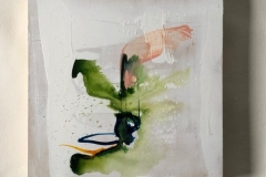 water and slowness: Triptych on panel